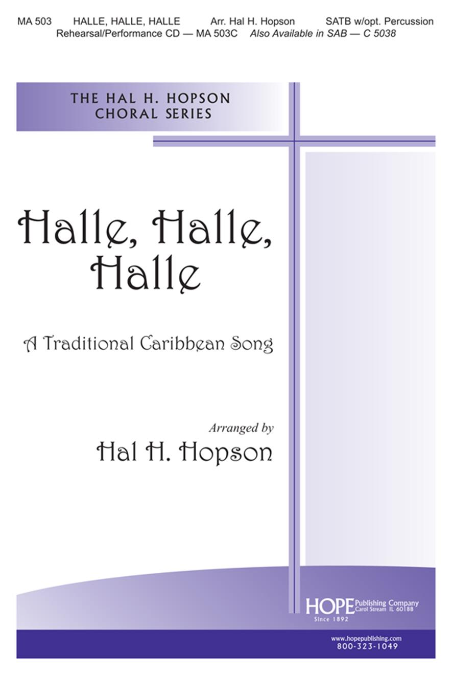 Halle Halle Halle - SATB Cover Image