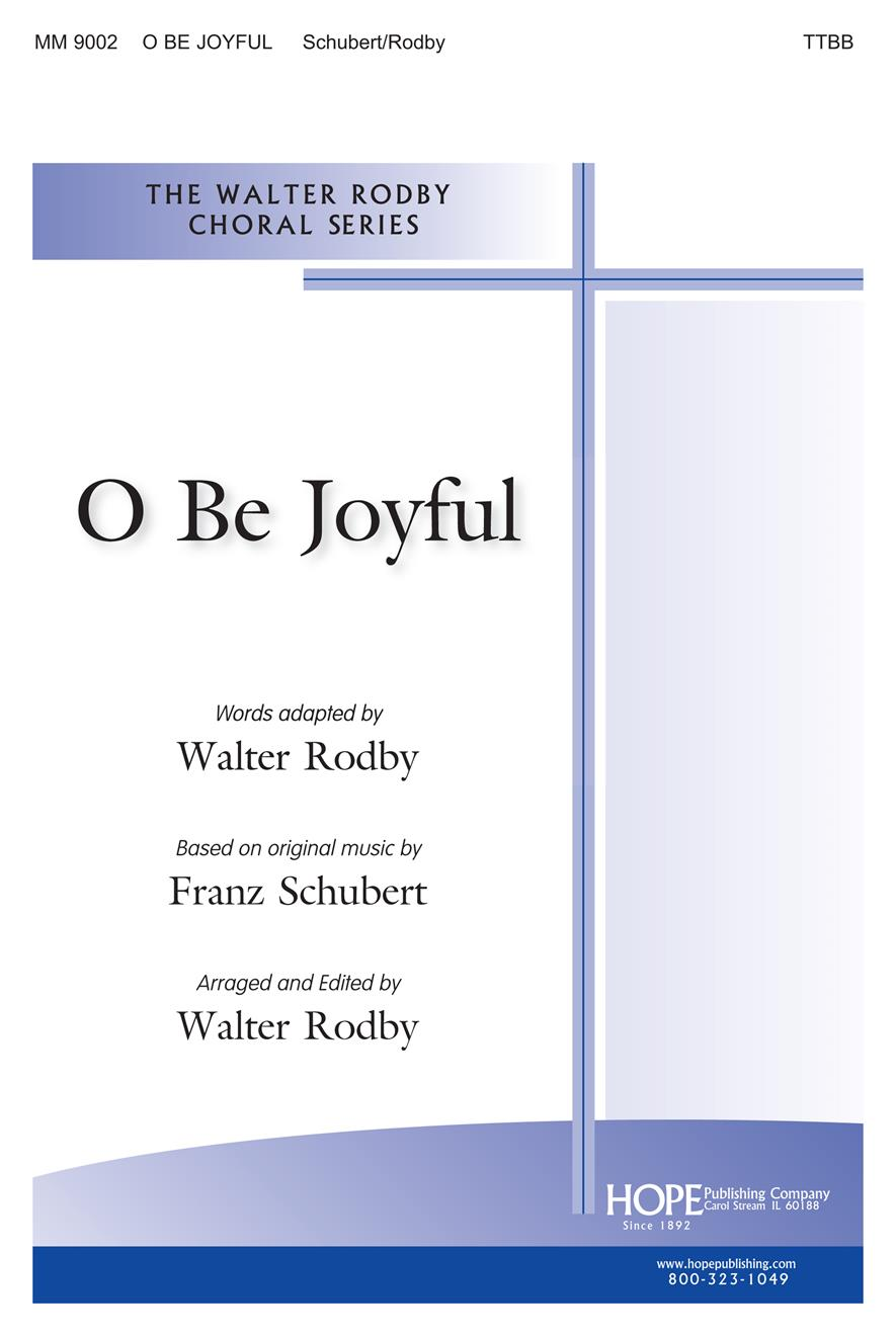 O Be Joyful - TTBB Cover Image