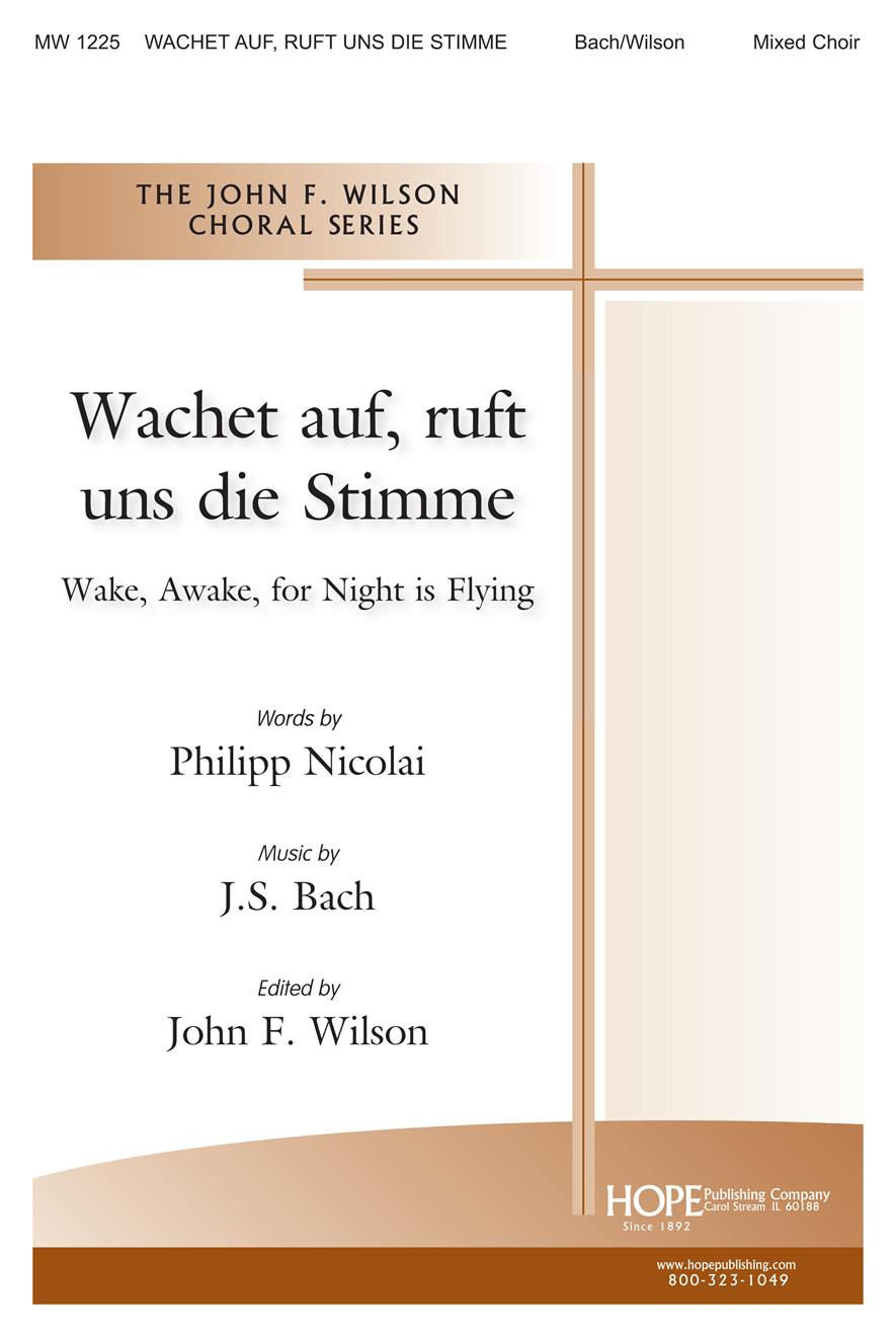 Wachet Auf (Sleepers Awake) - SATB Cover Image