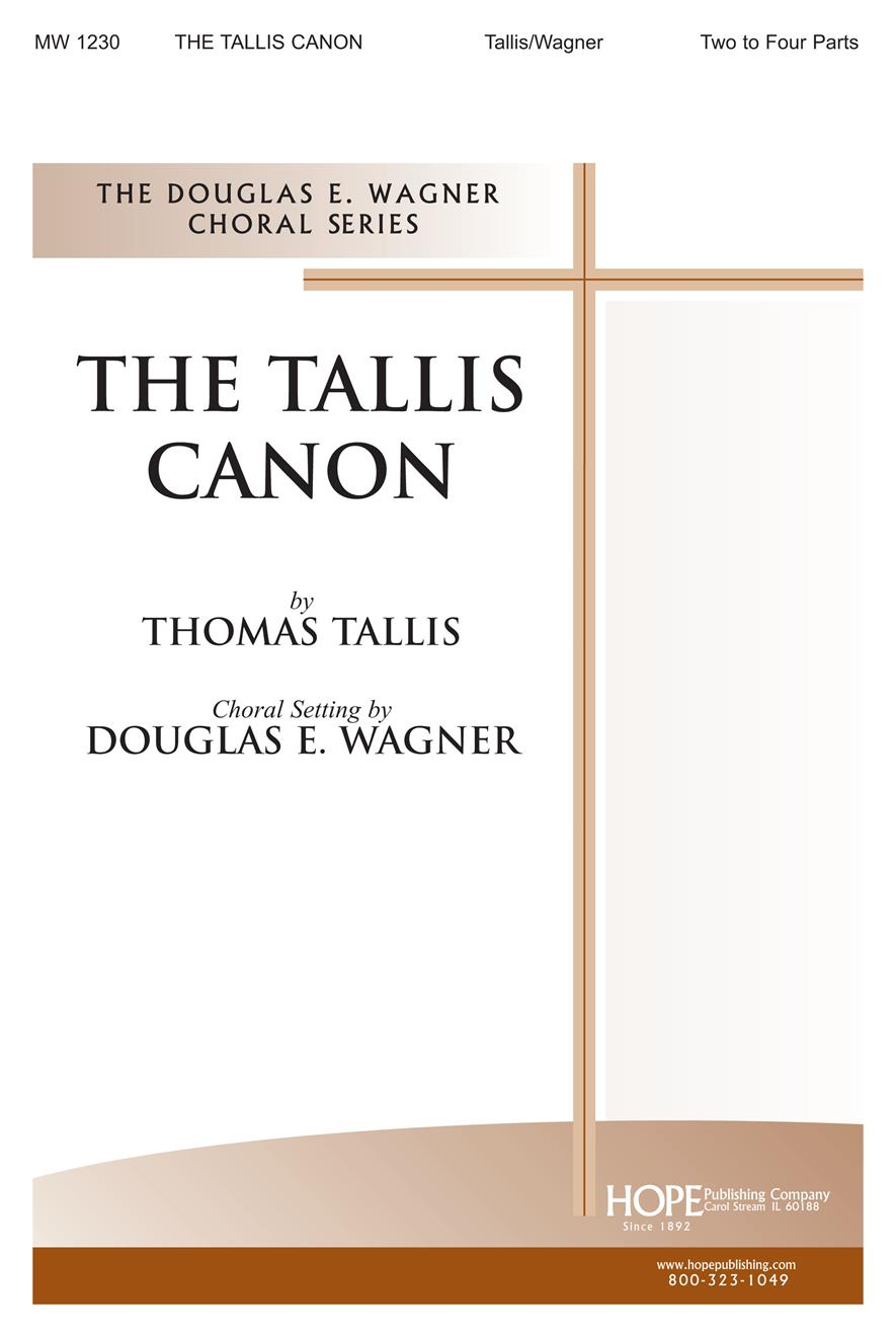 Tallis Canon The - Two-Four Part Cover Image