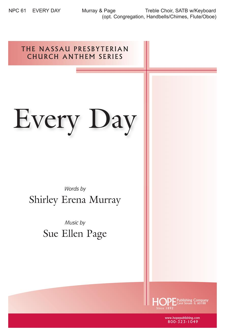 Every Day - SATB Cover Image