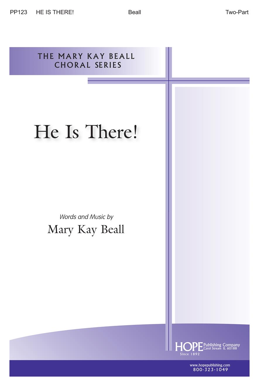 He Is There - Two-Part Cover Image