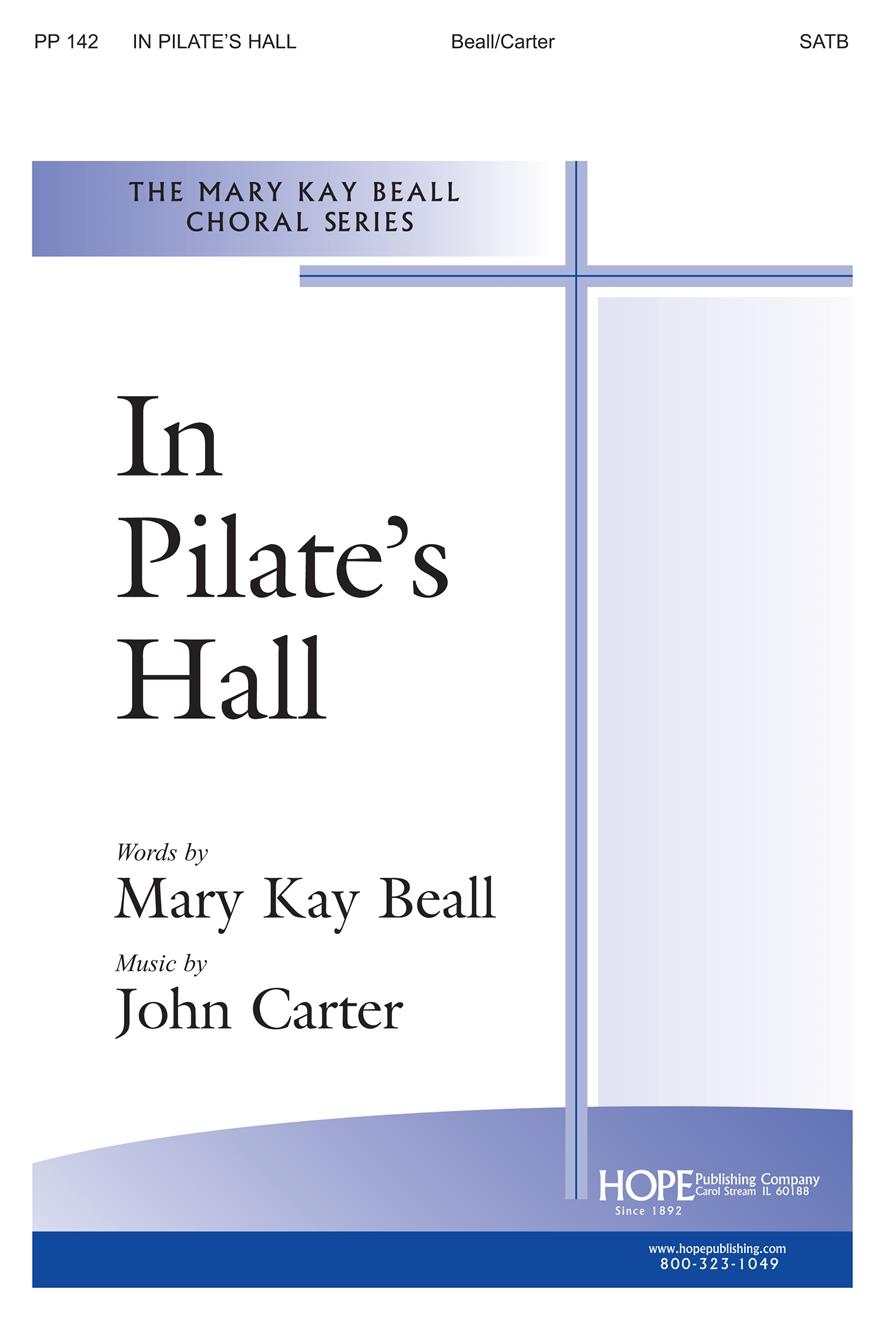 In Pilate's Hall - SATB Cover Image