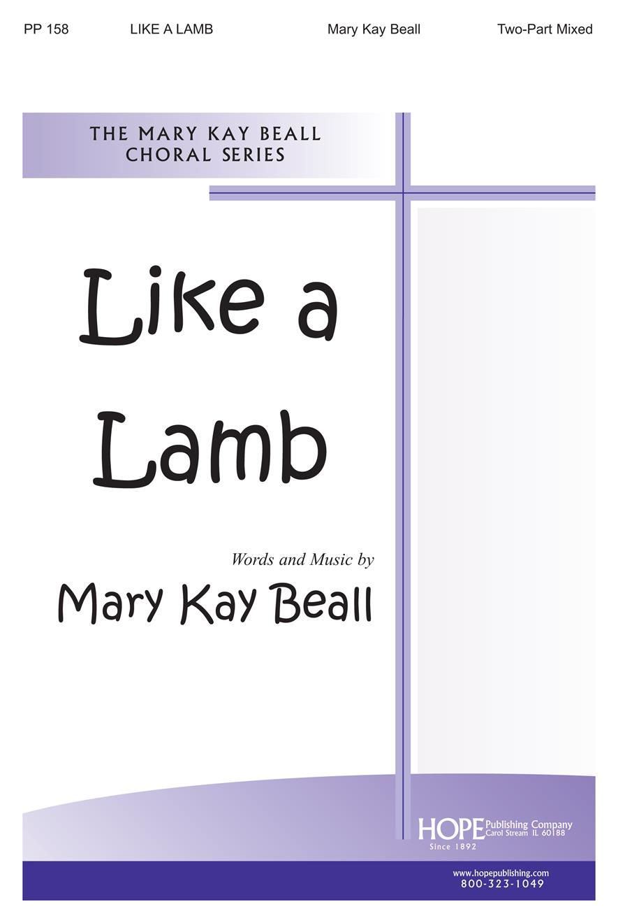 Like a Lamb - Two-Part Mixed Cover Image