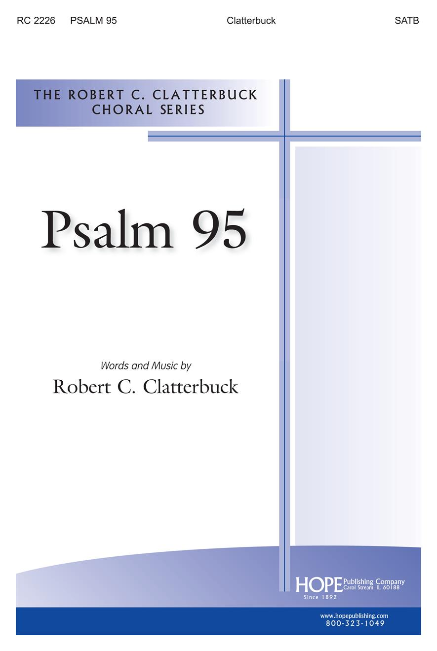 Psalm 95 - SATB Cover Image