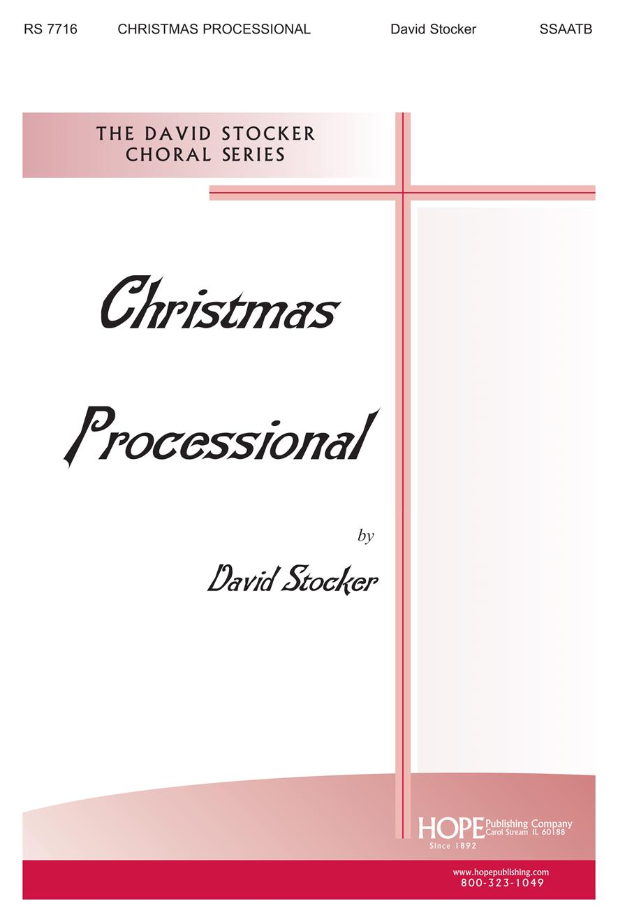 Christmas Processional - SSAATB and Handbells Cover Image