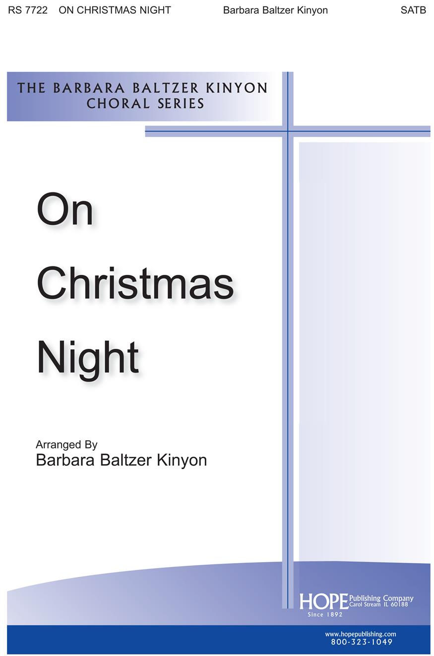 On Christmas Night - SATB Cover Image