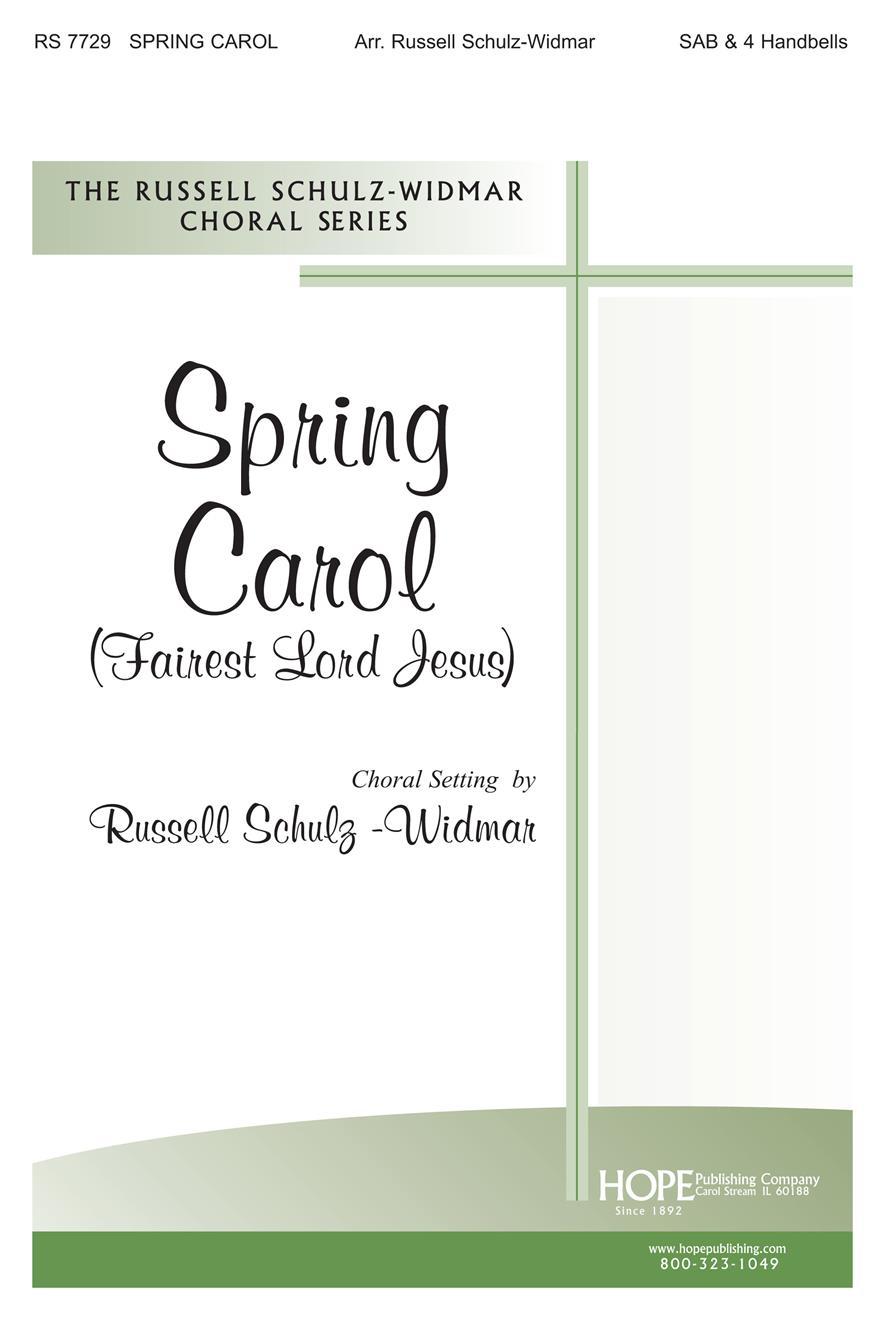 Spring Carol - SAB and 4 Handbells Cover Image