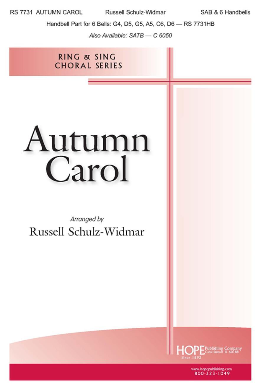 Autumn Carol - SAB Cover Image