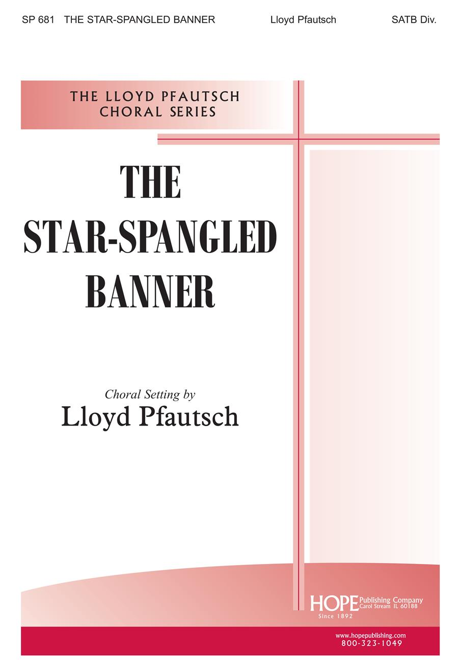 Star-Spangled Banner The - SATB Cover Image