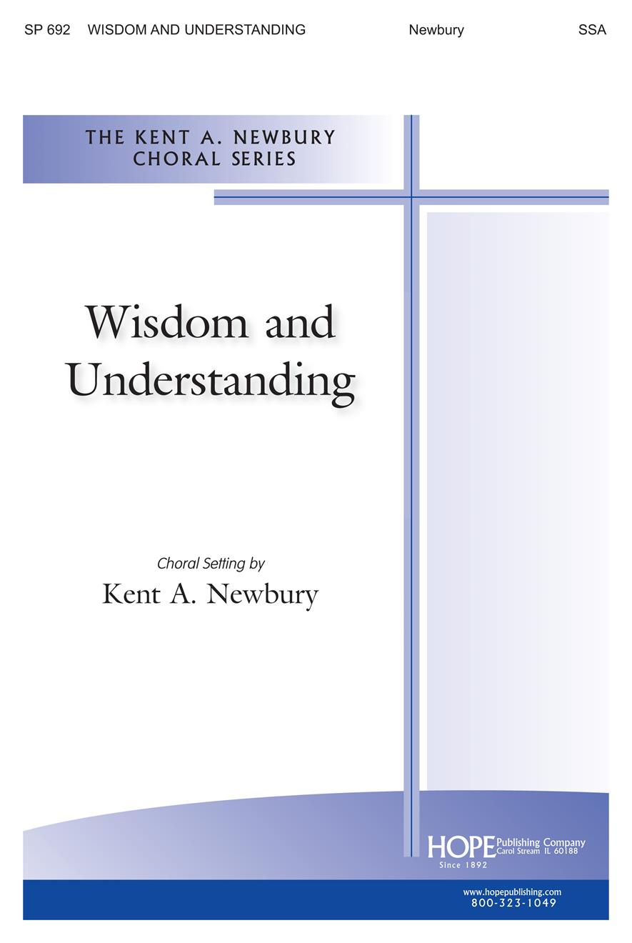 Wisdom and Understanding - SSA Cover Image