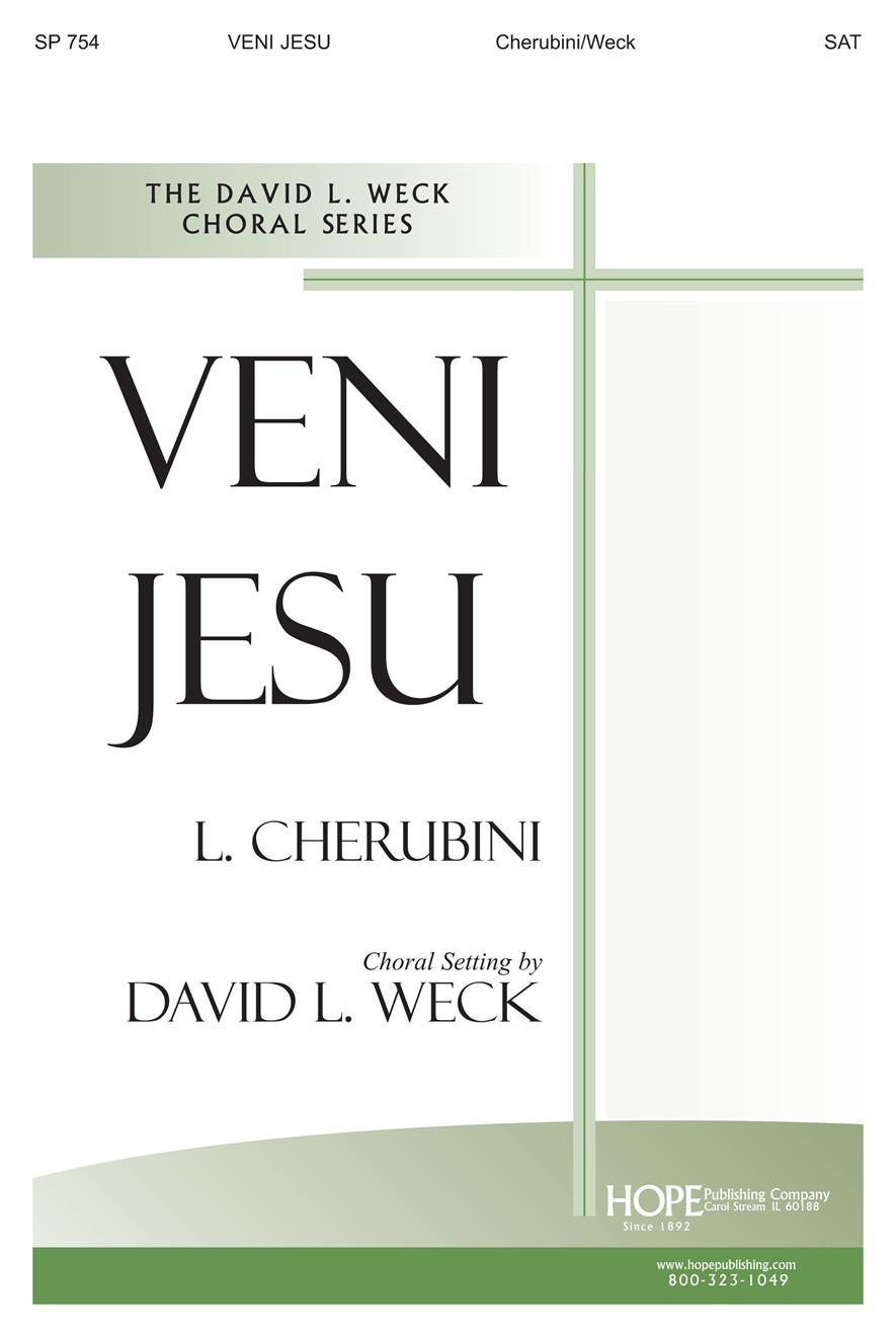 Veni Jesu - SAT Cover Image