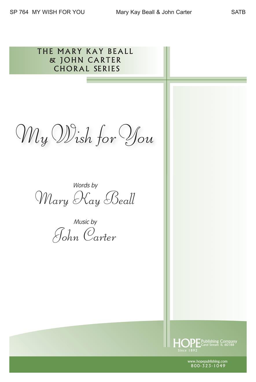 My Wish for You - SATB Cover Image