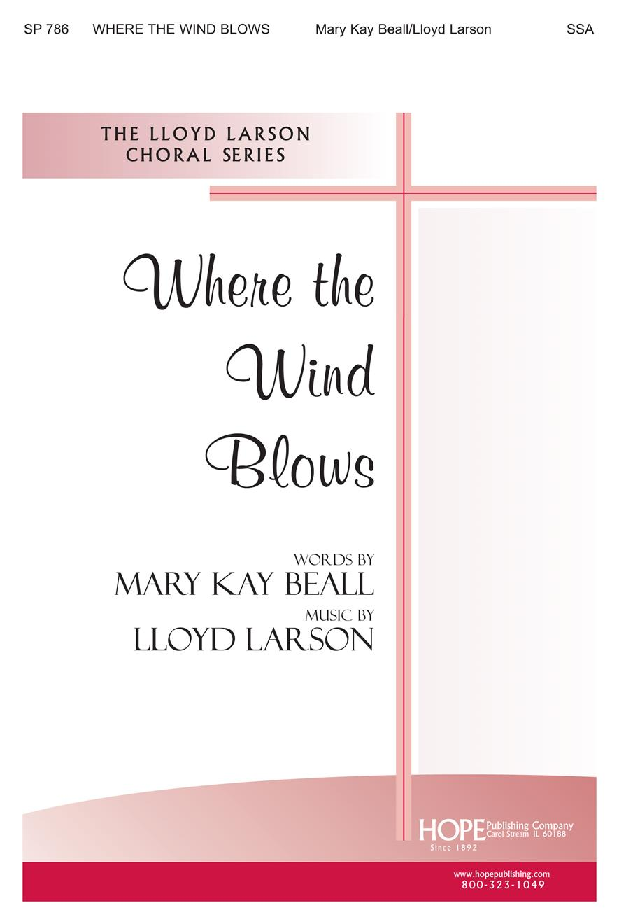 Where the Wind Blows - SSA Cover Image