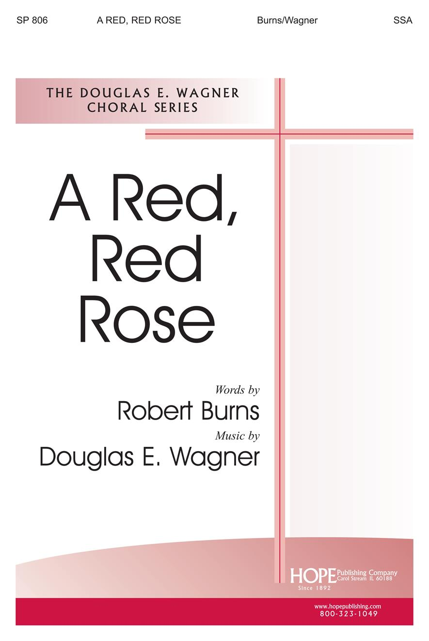 Red Red Rose A - SSA Cover Image