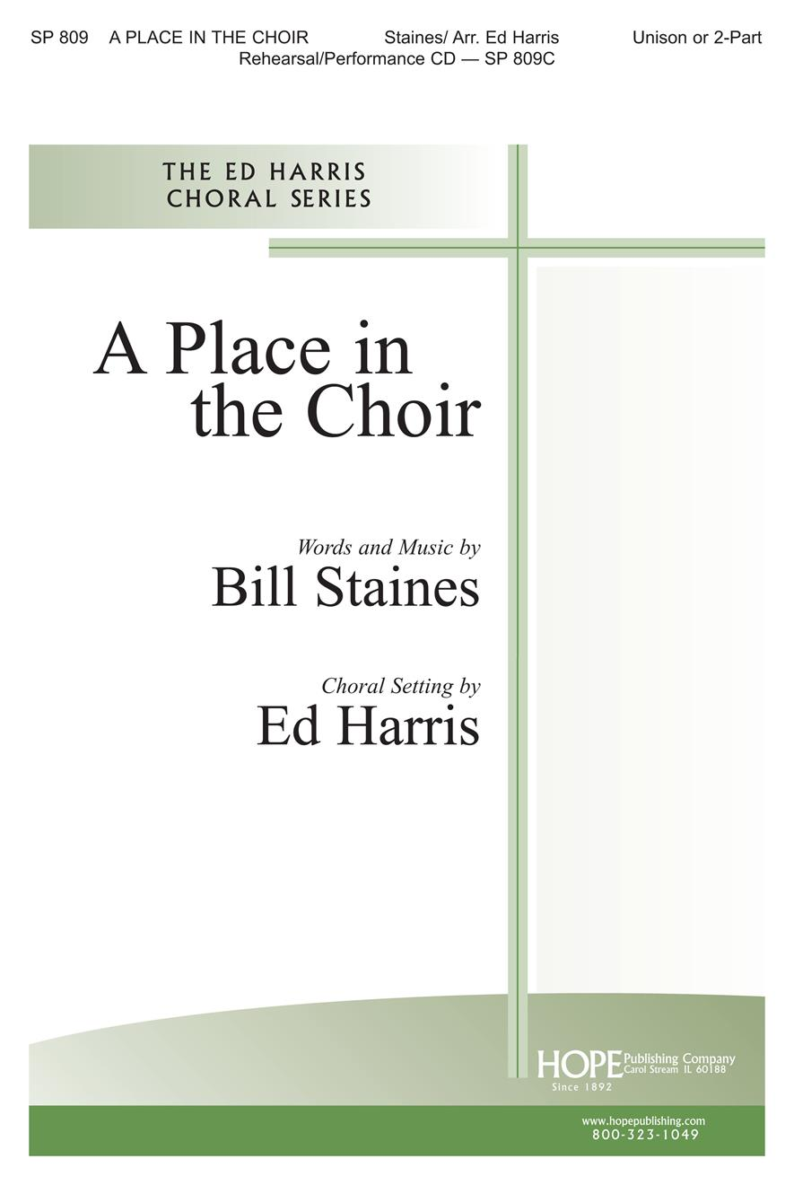 Place in the Choir A - Two-Part Cover Image