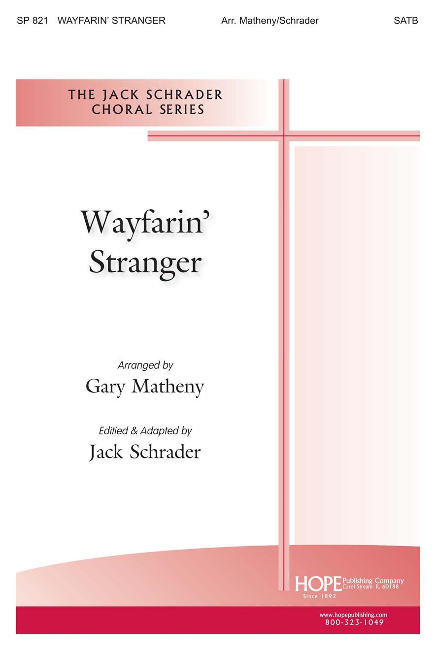 Wayfarin' Stranger - SATB Cover Image