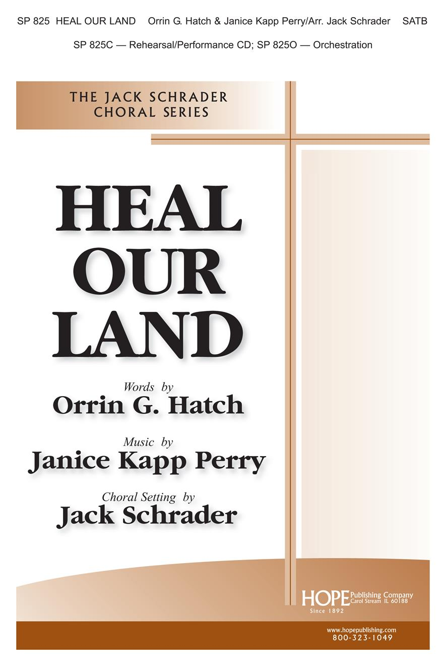 Heal Our Land - SATB Cover Image