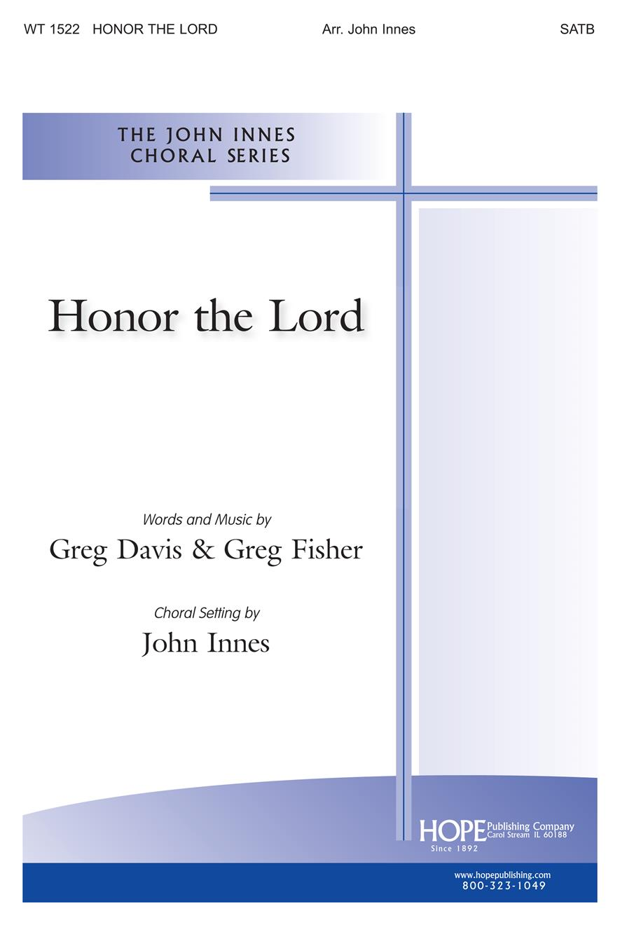 Honor the Lord - SATB Cover Image