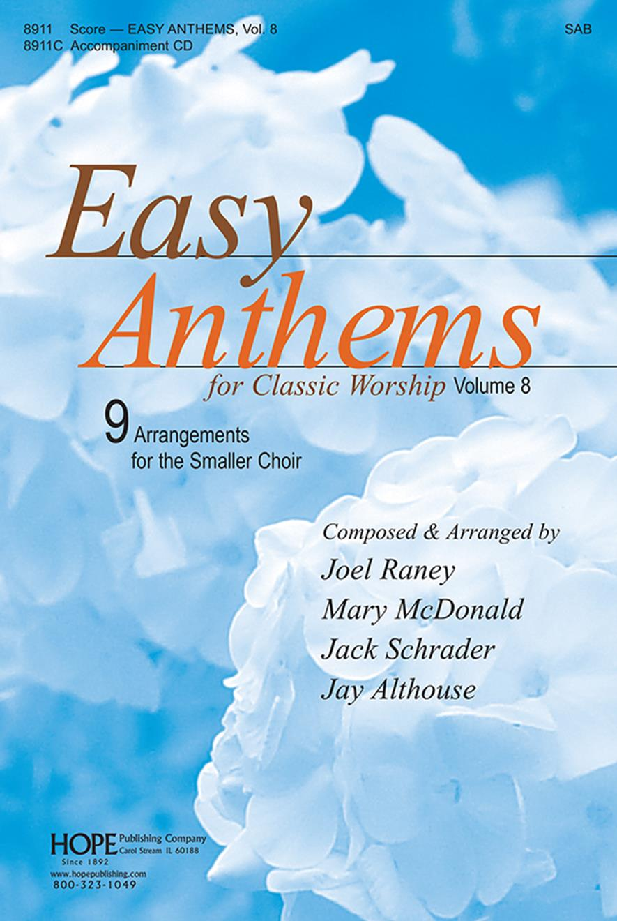 Easy Anthems 8 - SAB 2pt mix collection Cover Image