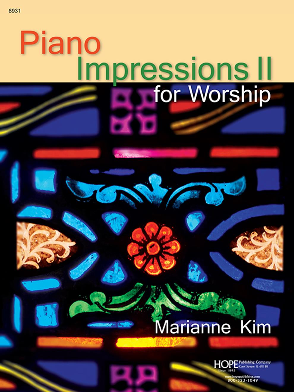 Piano Impressions for Worship 2 - Score Cover Image