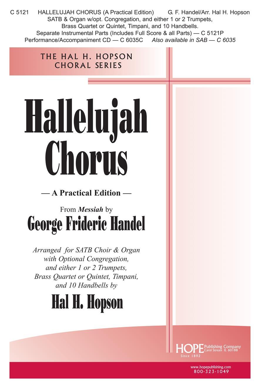 Hallelujah Chorus - SATB Cover Image