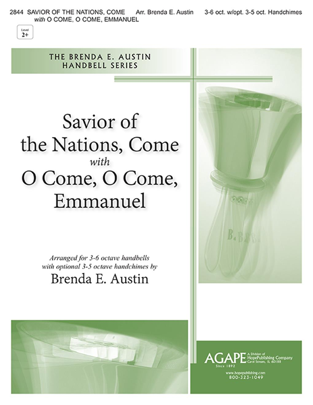 Savior of the Nations Come w- Come O Come Emmanuel - 3-6 oct. w- 3-5 oct. hand Cover Image