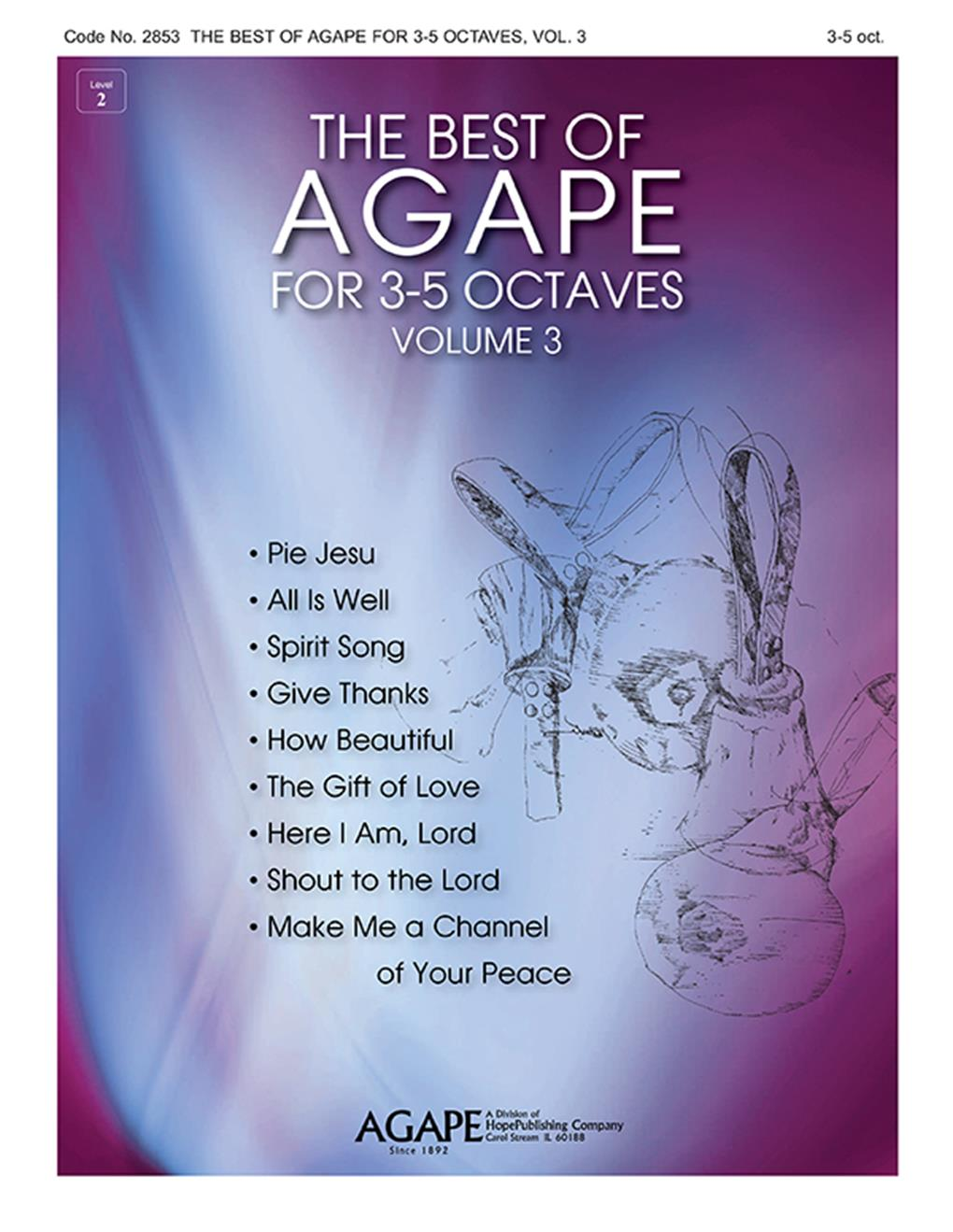 The Best of Agape for 3-5 Octaves Vol. 3 Cover Image