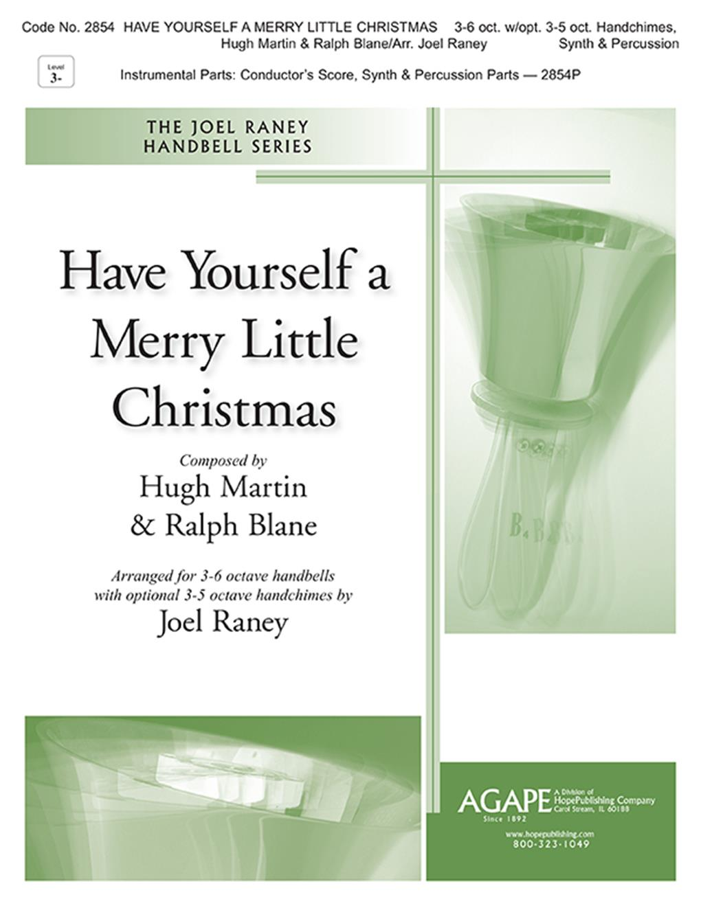 Have Yourself A Merry Little Christmas - 3-5 oct. Cover Image