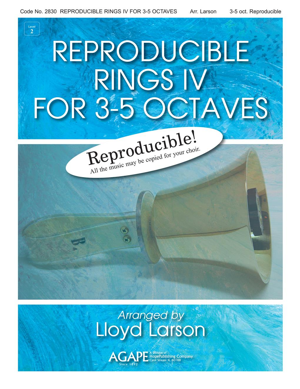 Reproducible Rings for 3-5 Octaves Vol. 4 Cover Image