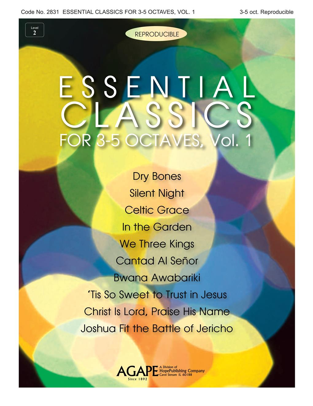 Essential Classics for 3-5 Octaves Vol. 1 (Reproducible) Cover Image