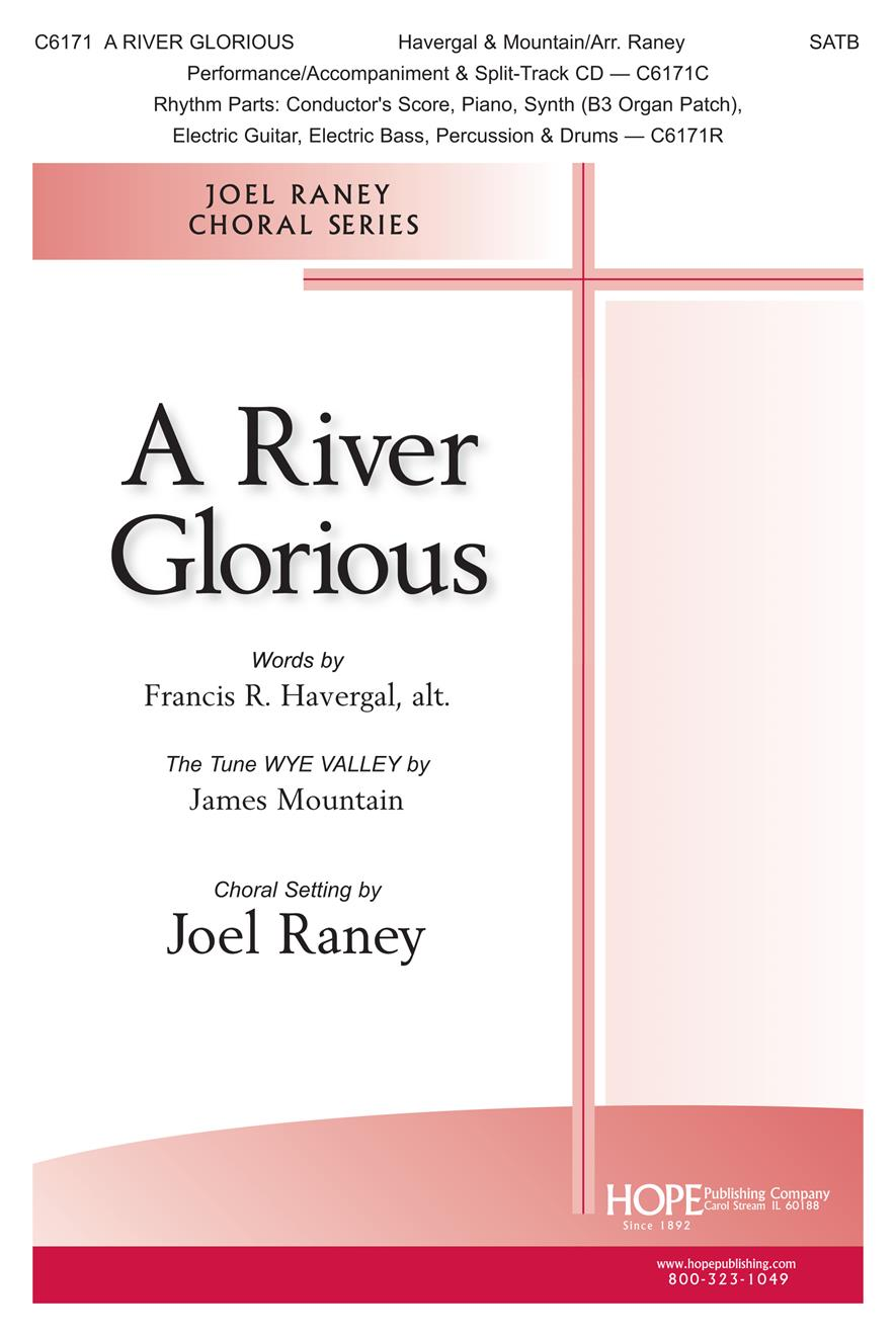 River Glorious A - SATB Cover Image