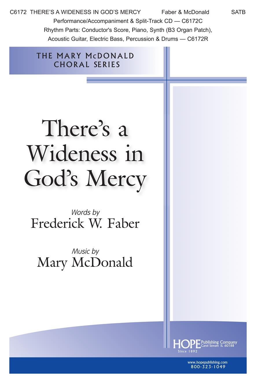 There's a Wideness in God's Mercy-Cover Image