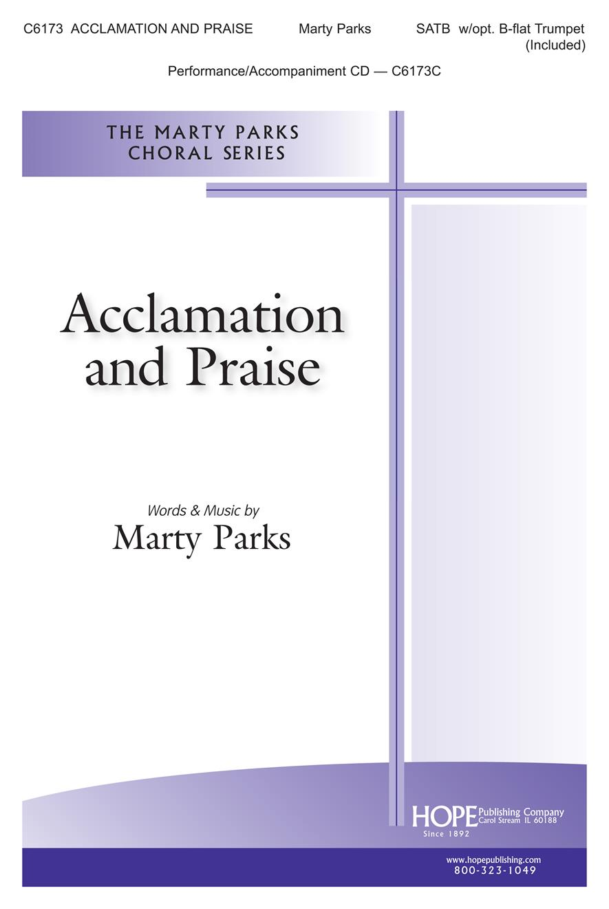 Acclamation and Praise - SATB w- opt. B-flat trumpet (Included) Cover Image