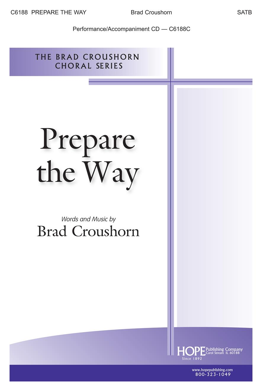 Prepare The Way - SATB Cover Image