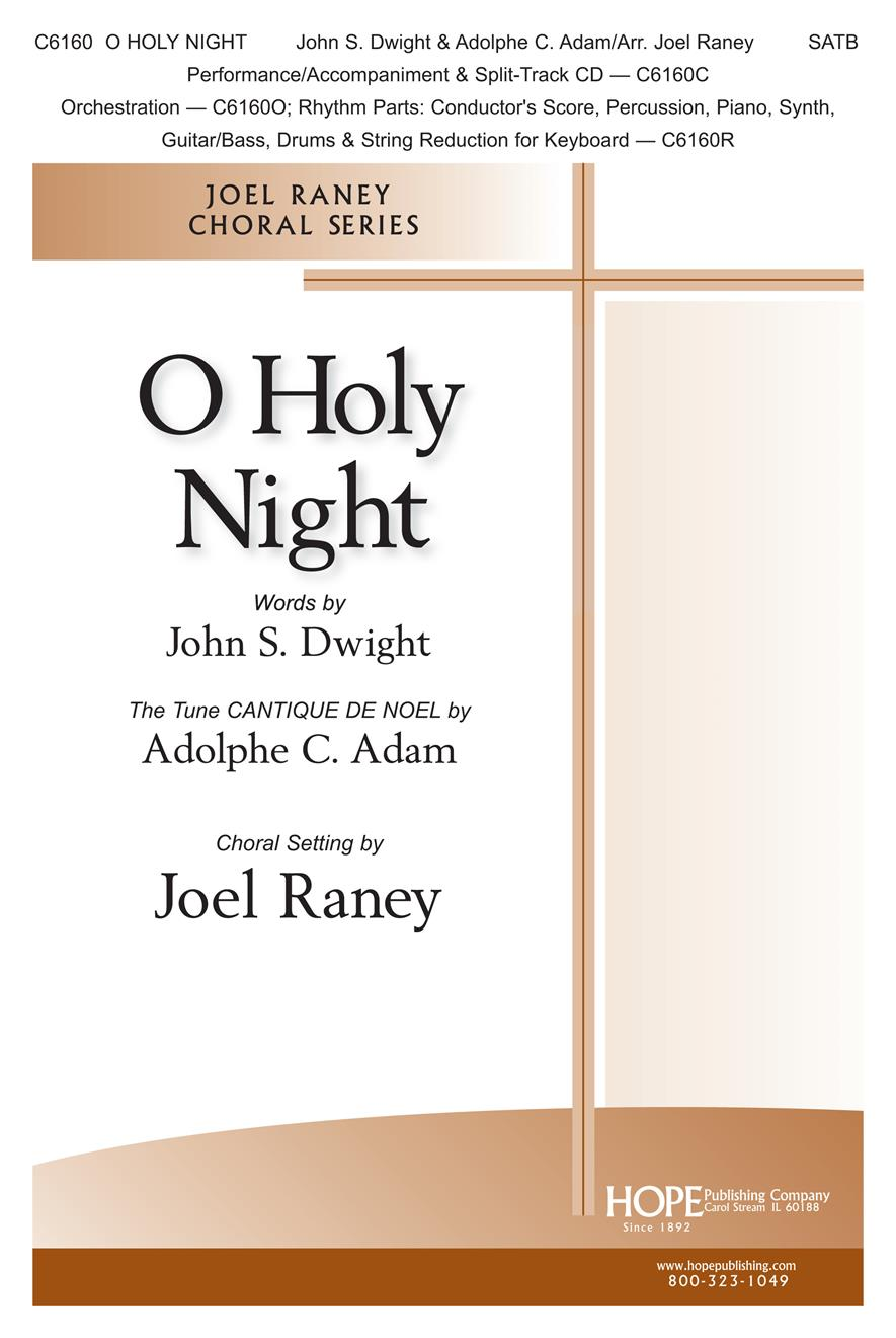 O Holy Night - SATB Cover Image