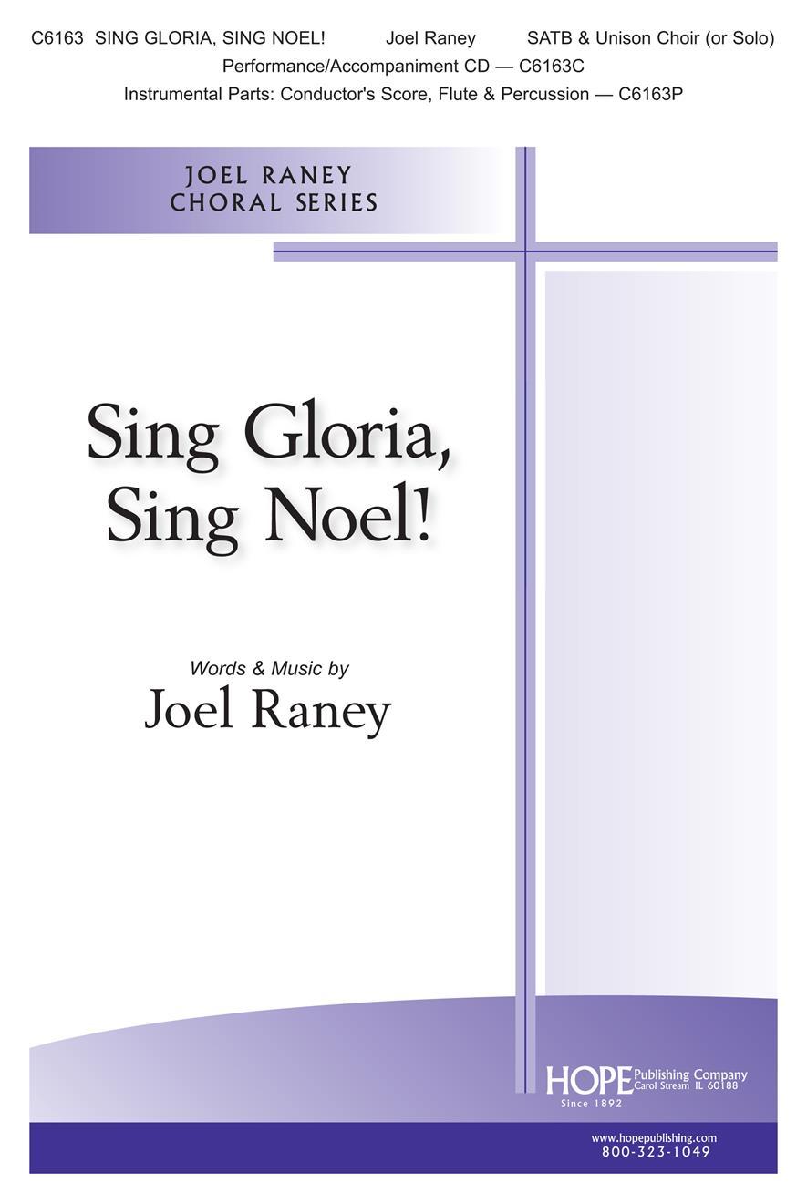 Sing Gloria Sing Noel SATB Cover Image