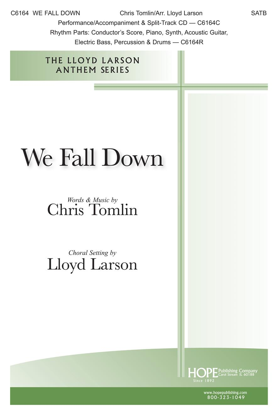 We Fall Down - SATB Cover Image