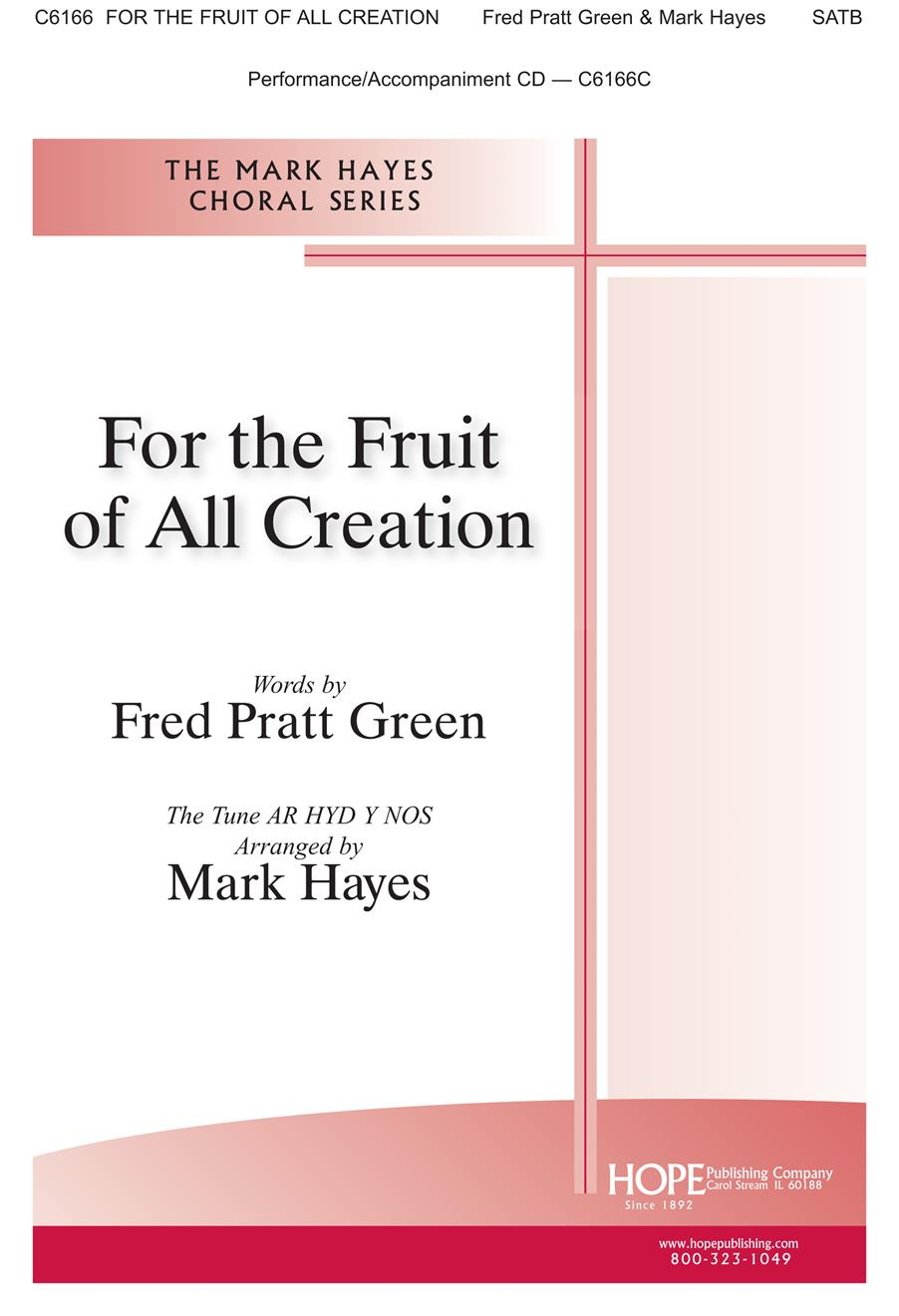 For the Fruit of All Creation - SATB Cover Image