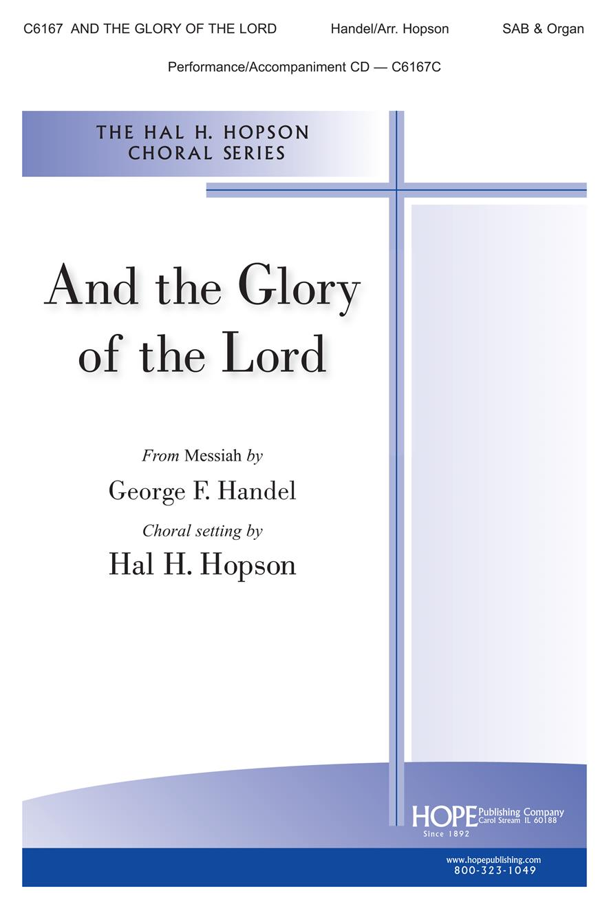 And the Glory of the Lord - SAB and organ Cover Image