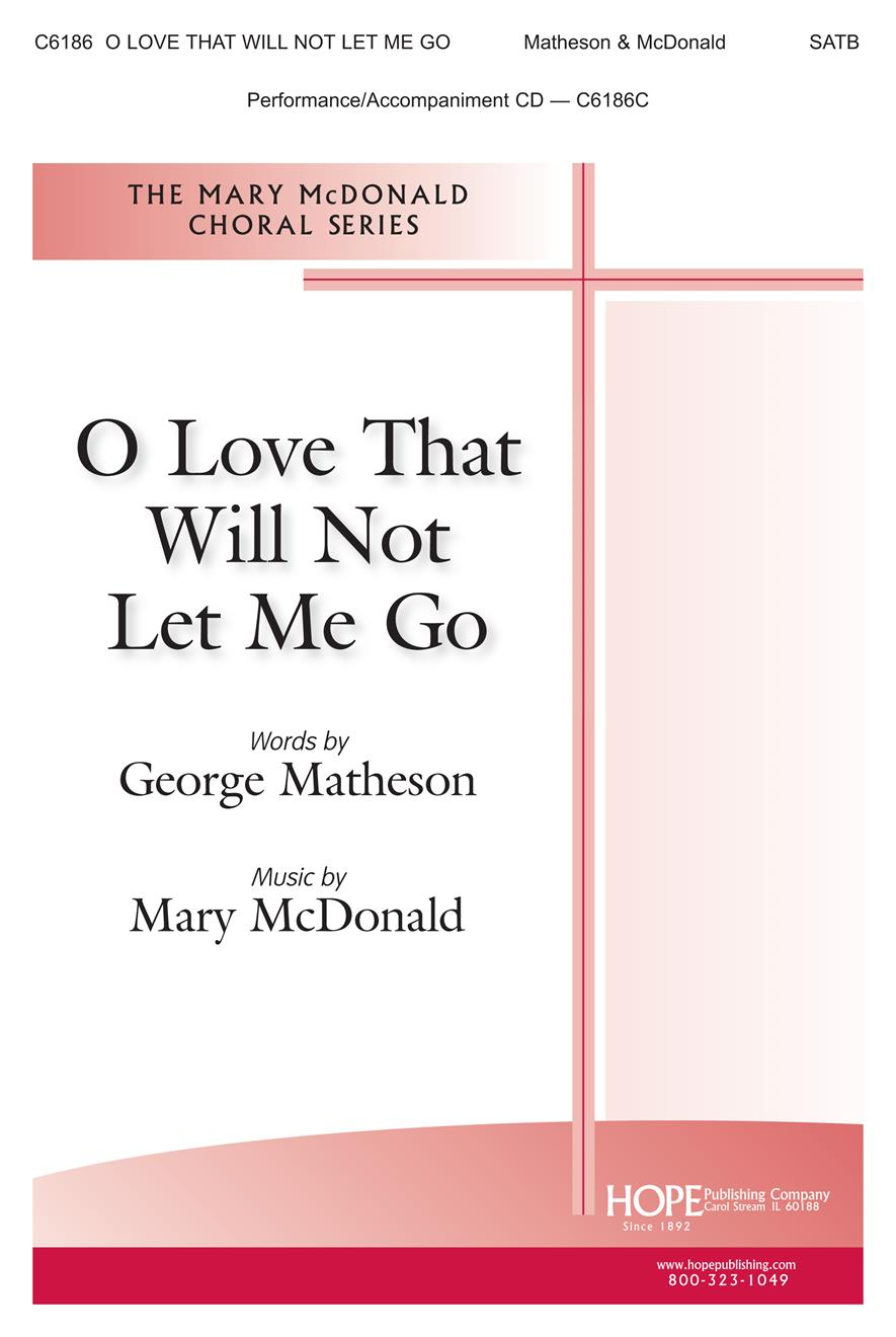 O Love That Will Not Let Me Go - SATB Cover Image