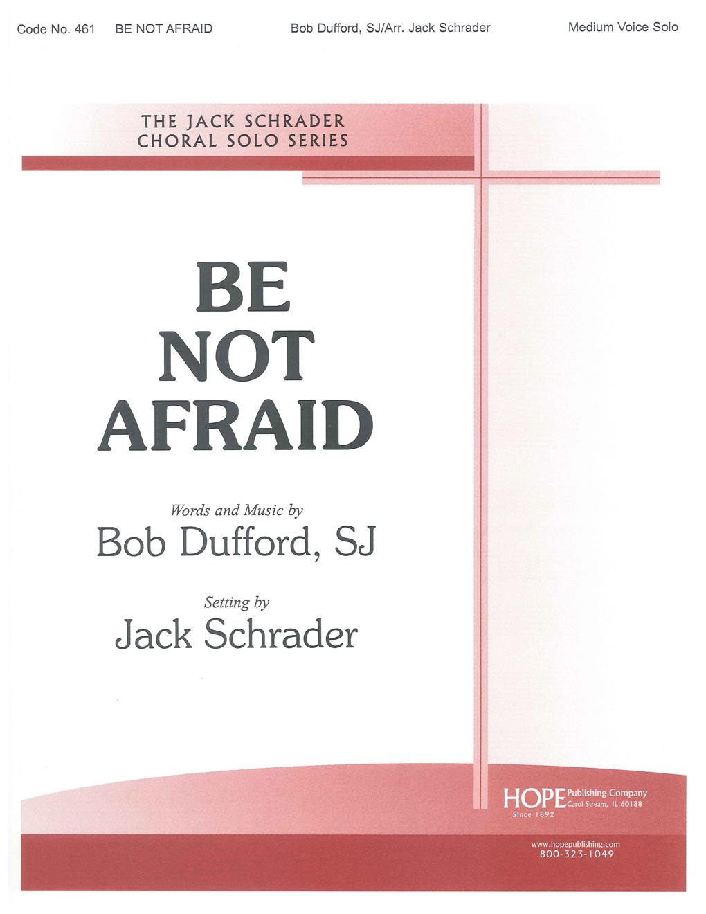 Be Not Afraid - Solo - Medium Voice - Key of G Cover Image