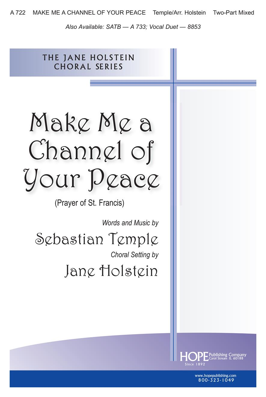 Make Me a Channel of Your Peace - Two-Part Cover Image