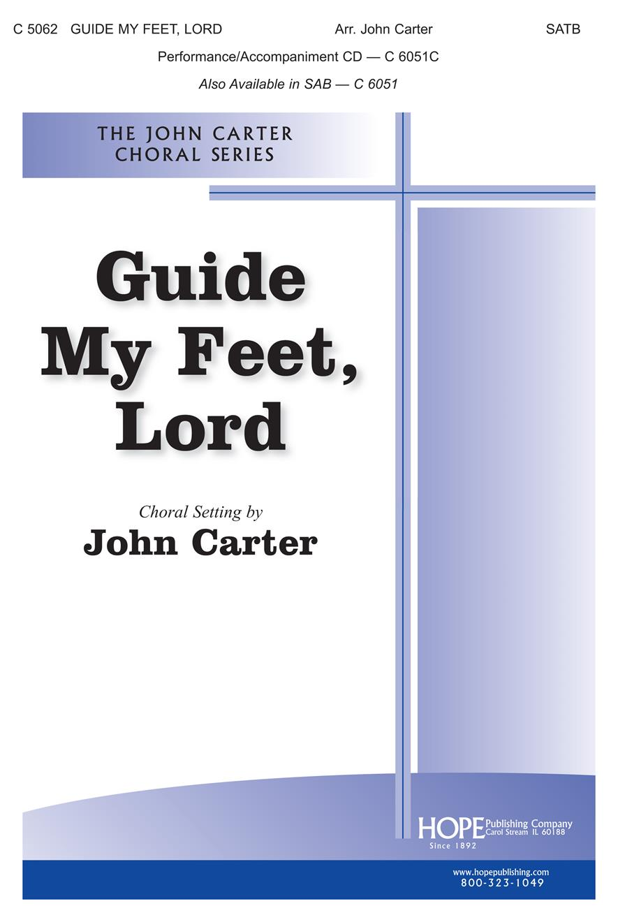 Guide My Feet Lord - SATB Cover Image
