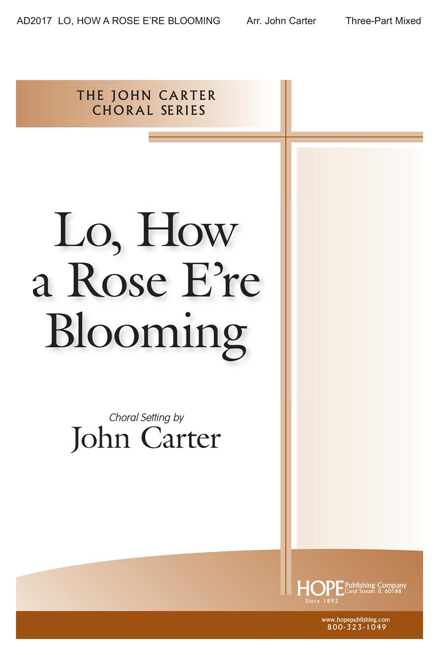 Lo How a Rose E'er Blooming - 3-part Cover Image