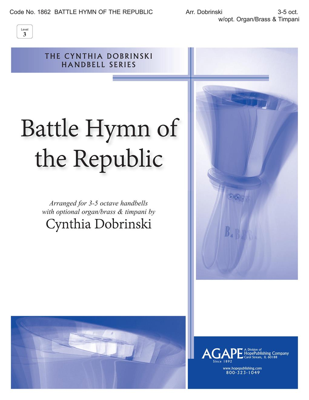 Battle Hymn of the Republic - 3-5 Octave Cover Image