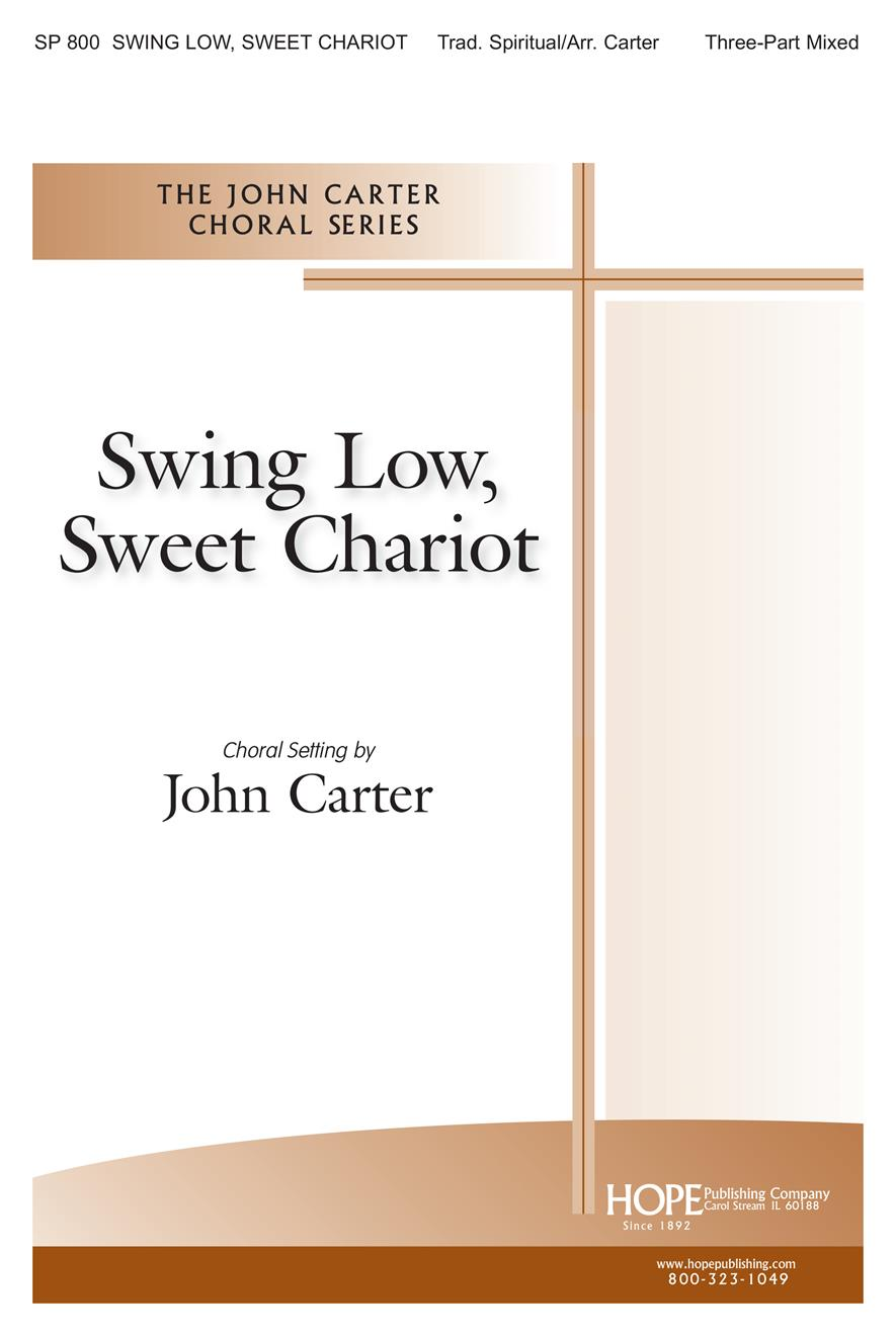 Swing Low Sweet Chariot - 3-Part Mixed Cover Image