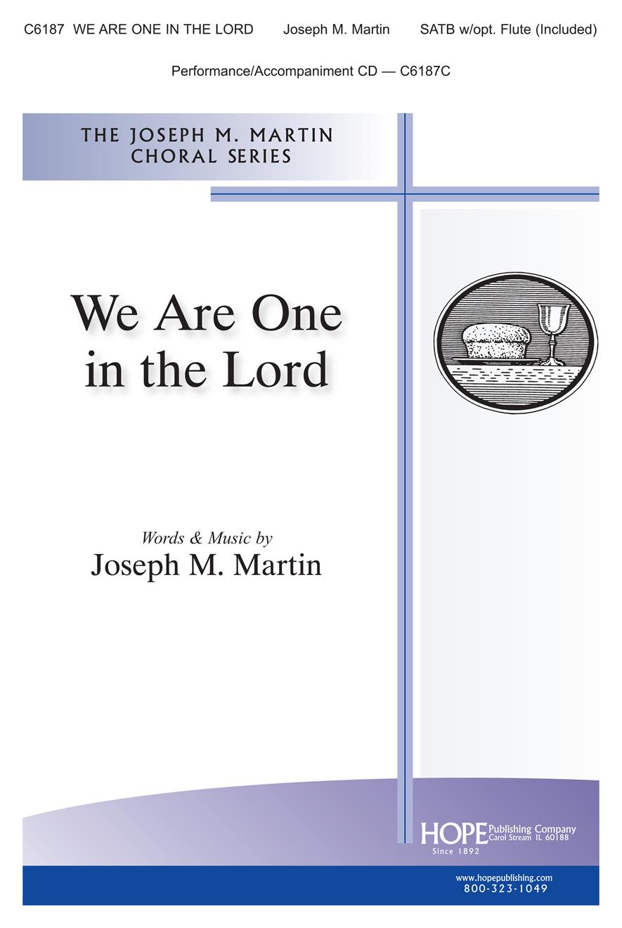 We Are One in the Lord - SATB Cover Image