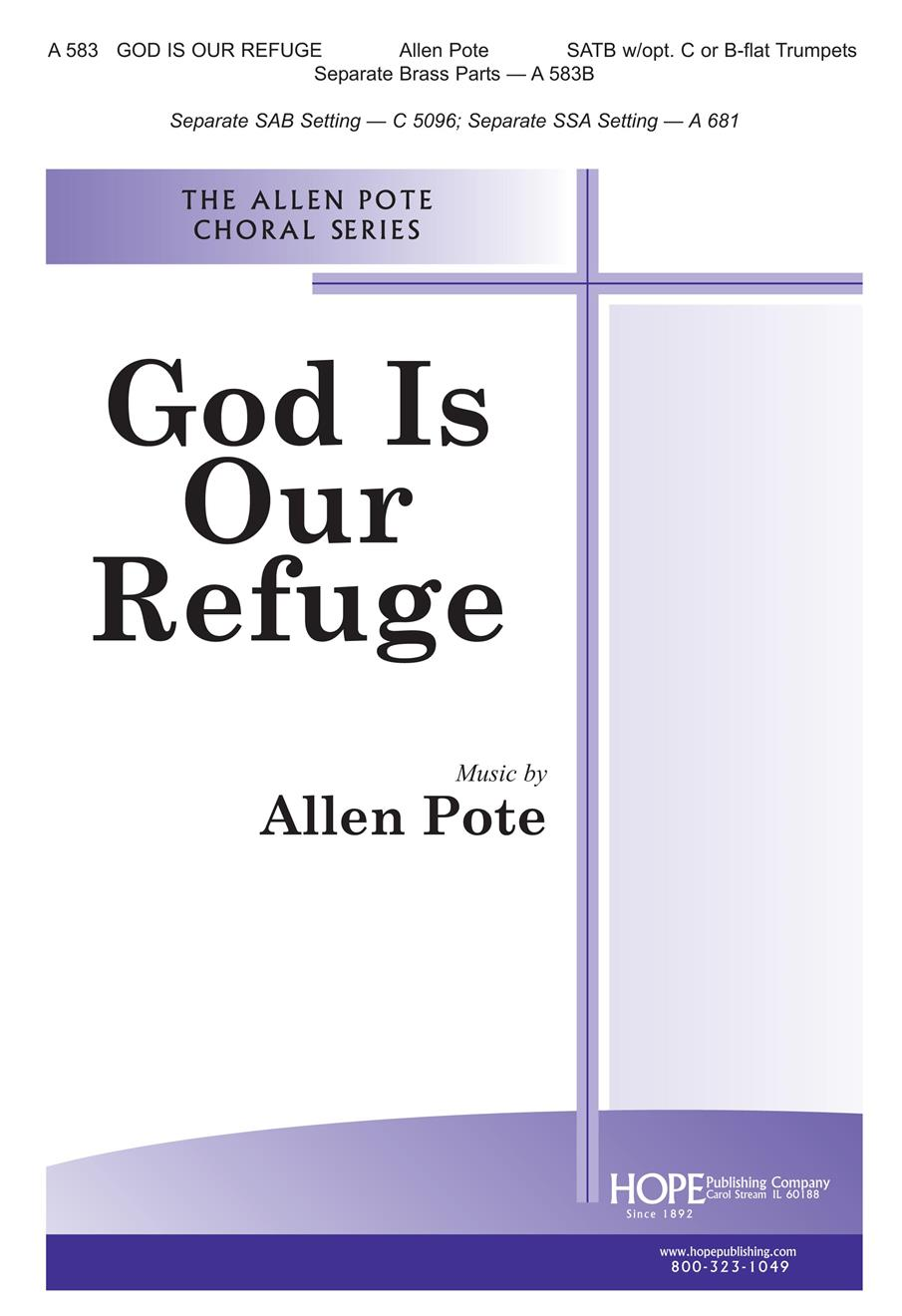 God Is Our Refuge - SATB Cover Image