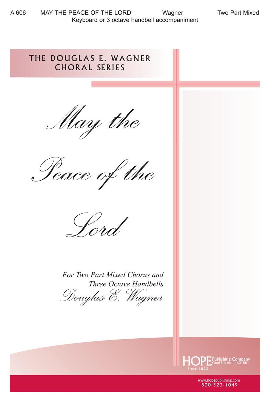 May the Peace of the Lord - Two-Part Mixed Cover Image